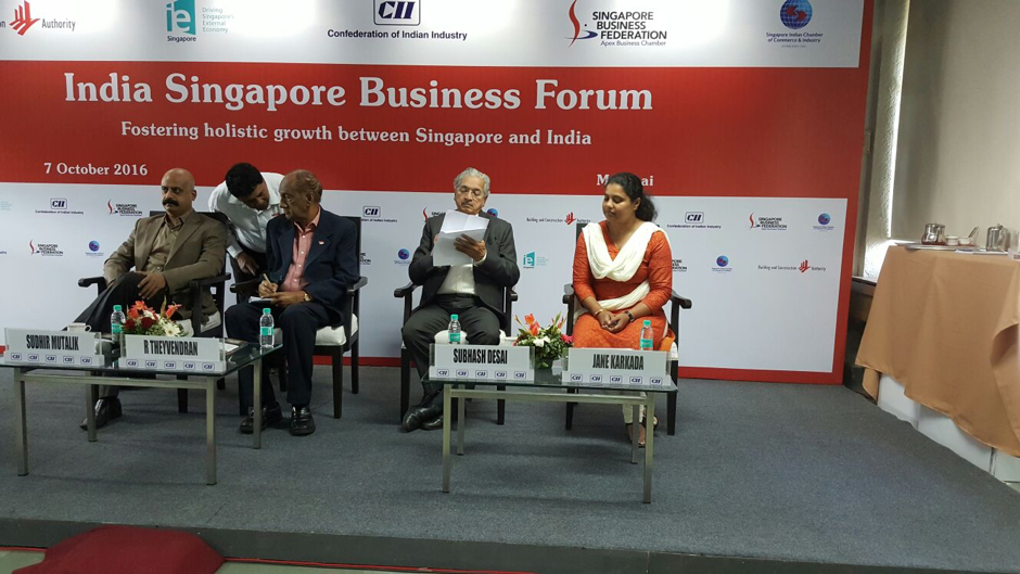 India-Singapore Business Forum
